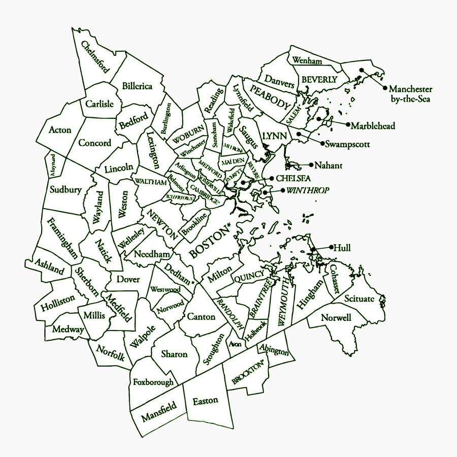 Ezra Home Care Service Area Map
